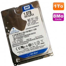 "Disque Dur 1To SATA 2.5"" Western Digital Blue WD10JPCX-24UE4T0 Pc Portable 8Mo"