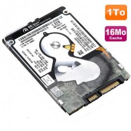 """Disque Dur 1To SATA 2.5"""" Western Digital Black WD10S21X-24R1BT0 Pc Portable 16Mo"""