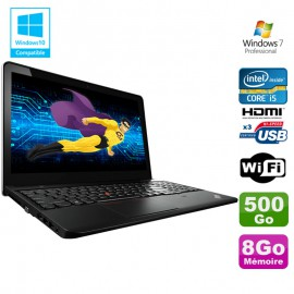 "PC Portable 15.6"" Lenovo ThinkPad E540 Core I5-4210M 2.60Ghz 8Go Disque 500Go W7"
