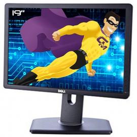 """Ecran Plat PC 19"""" DELL P1913B 0GSDXH 02W2Y8 LCD TFT TN VGA DVI-D Display 16:10"""