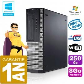 PC DELL 390 DT Intel G630 Ram 8Go Disque 250 Go Wifi W7