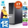 PC DELL 390 DT Core I7-2600 Ram 8Go Disque 500 Go Wifi W7