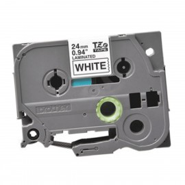Ruban Cassette Brother TZe-251 NOIR 24mm x 8m P-touch 350 540 540C 550 2400 NEUF