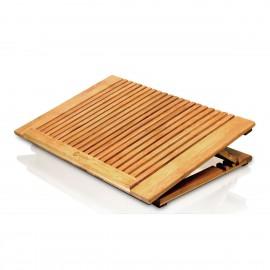 Support Ventilation PC Portable Dr Bott Macally Ecofan Pro Bambou USB