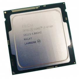 Processeur CPU Intel 4 Core i7-4790K SR219 4.00GHz FC-LGA 1150 8Mo 5GT/s Haswell