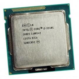 Processeur CPU Intel Core I5-3550S 3.0Ghz 6Mo 5GT/s FCLGA1155 SR0P3
