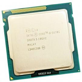 Processeur CPU Intel Core I5-3570S SR0T9 3.10 GHz 6Mo 5GT/s FCLGA1155 Quad Core