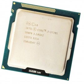 Processeur CPU Intel Core I7-3770S 3,10 GHz 8Mo 5GT/s FCLGA1155 SR0PN