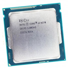 Processeur CPU Intel Core I3-4370 3.8Ghz SR1PD LGA1150 4Mo 5GT/s
