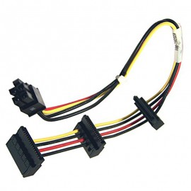Câble Adaptateur SATA ATX 4-pin HP 625261-001 Optical Disk Drive Power Adapter