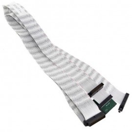 Câble Nappe Interne Ultra320 SCSI HP FOXCONN 350141-001 140cm Terminator Adapter