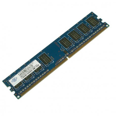 1GB Ram Barrette Mémoire NANYA DDR2 PC2-6400U NT1GT64U88D0BY-AD Pc Bureau