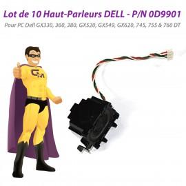 Lot x10 Haut-Parleurs Dell 360 380 GX520 GX549 GX620 745 755 760 DT 0D9901 D9901