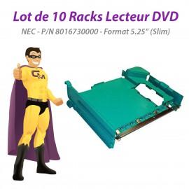 """Lot x10 Racks NEC PowerMate VL370 Pico BTX 8016730000 Lecteur DVD 5.25"""" Slim"""