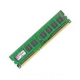 Ram Barrette Mémoire KINGSTON 1GB DDR3 PC3-10600U KVR1333D3N9/1G 1Rx8 Pc Bureau