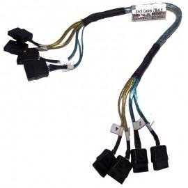 Câble Nappe SAS IBM FRU CCBL-0675 422763100003 4x e-SATA 30cm Interne Adapter