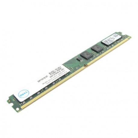 Ram Barrette Mémoire KINGSTON 2GB DDR2 PC2-6400 SNPYG410C/2G SLIM Certifié DELL