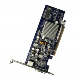 Carte GIGABYTE GeForce 6200 GV-NX62LTC256T 256Mo VGA S-Video PCI-Express