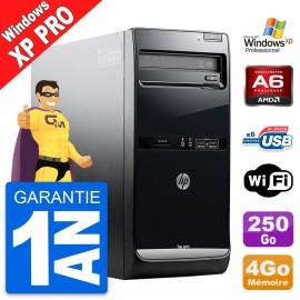 PC Tour HP Pro 3405 MT AMD A6-3600 RAM 4Go Disque Dur 250Go Windows XP Pro