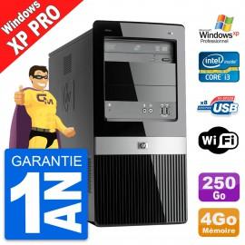 PC Tour HP Pro 3130 MT Intel Core i3-540 RAM 4Go Disque Dur 250Go Windows XP Pro