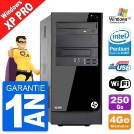 PC Tour HP Pro 3300 MT Intel G620 RAM 4Go Disque Dur 250Go Windows XP Pro