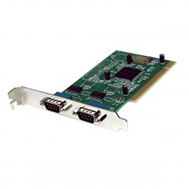 Carte Dual Série StarTech PCI2S950 U952PR2-B PCI 2x RS-232 DB-9M High Profile