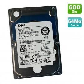 """Disque Dur 600Go 2.5"""" SAS DELL Toshiba AL13SEB600 HDEBC01DAA51 05TFDD DE0D 10K"""