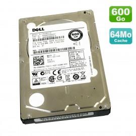 "Disque Dur 600Go 2.5"" SAS DELL Toshiba AL13SXB600N HDEAE00DAA51 0990FD DF09 15K"