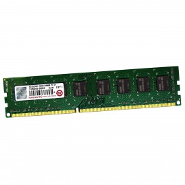 8Go RAM Transcend TS1GLK64V6H PC3-12800U DIMM DDR3 1600Mhz 2Rx8 1.5v CL11