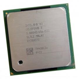 Processeur CPU Intel Celeron D 335 SL7L2 2.8Ghz 256Ko 533Mhz Socket 478
