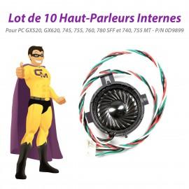 Lot x10 Haut-Parleurs Dell 0D9899 GX520 GX620 745 755 760 780 SFF 740 755 MT