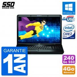 PC Portable 17'' HP Compaq 6830s Intel Core P8400 RAM 4Go SSD 240Go W10