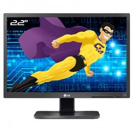 "Ecran PC Pro 22"" LG 22MB65PM-B 22MB65PMF VGA DVI-D WideScreen 16:10 LED TFT TN"