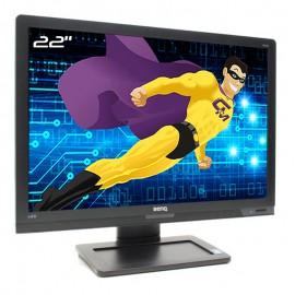 """Ecran PC Pro 22"""" BENQ BL2201-T BL2201PT VGA DVI-D DisplayPort WideScreen 16:10"""