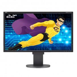 """Ecran PC 22"""" NEC MultiSync EA224WMi L221VD HDMI VGA DVI DisplayPort USB 16:9"""