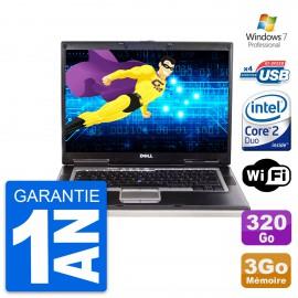 PC Portable 15.4'' Dell latitude d830 Core 2 Duo T7100 RAM 3Go HDD 320Go W7