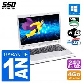 PC Portable 15.4'' Dell Inspiron 1501 AMD Sempron 5000+ RAM 4Go SSD 240Go W10