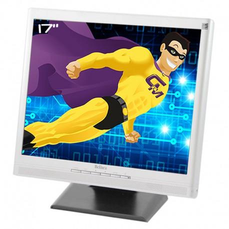 "Ecran PC Pro 17"" Belinea 101728 BB10002 LCD TFT TN VGA DVI Audio 1280x1024 VESA"