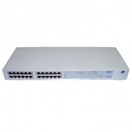 Switch 3Com 24 Ports RJ-45 3C16406 1640-610-000-5.00 SuperStack II PS Hub 40