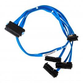 Câble SAS Dell SC1430 0PR439 0CH328 0M135R Serveur PowerEdge SFF-8484 4xSFF-8482