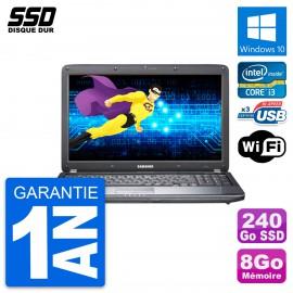 PC Portable 15.6'' Samsung R540 Intel Core i3-380M RAM 8Go SSD 240Go W10