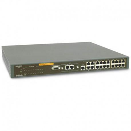Switch Rack 23 Ports RJ-45 1x RS-232 D-Link DES-3624i 10/100Mbps Fast Ethernet