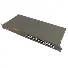 Switch Rack 24 Ports RJ-45 D-Link DES-1024R 10/100Mbps Fast Ethernet
