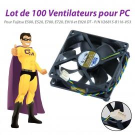Lot x100 Ventilateurs Fujitsu E500 E520 E700 E720 E910 E920 DT V26815-B116-V53