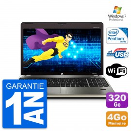 PC Portable 15.6'' HP ProBook 4530s Intel Pentium B940 RAM 4Go HDD 320Go W7