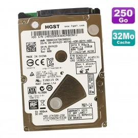"Disque Dur 250Go SATA 2.5"" HGST HTS725025A7E630 0HYK2D Z7K500-250 0J43112 32Mo"