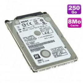 "Disque Dur 250Go SATA 2.5"" HGST HTS545025A7E330 Z5K500-250 0J42472 121K56465"