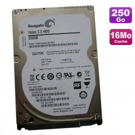 """Disque Dur 250Go SATA 2.5"""" Seagate Video ST250VT000 1BS141-500 0001SDC1 16Mo"""
