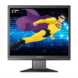 "Ecran Plat PC 17"" Hyundai X73S 5:4 VGA VESA 1280x1024 TFT TN LCD 1280x1024"