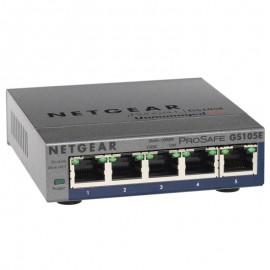 Switch NETGEAR ProSafe GS105E 272-10813-05 5x RJ-45 10/100/1000Mbps Gigabit LAN